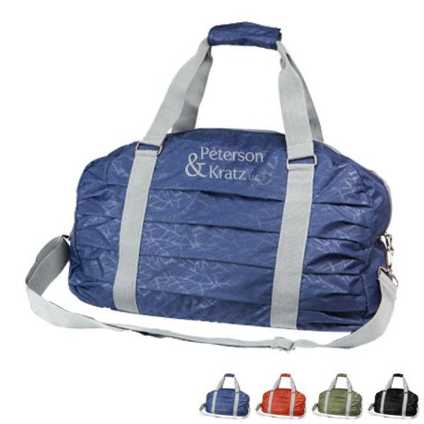 """Flex Polyester Athletic Duffel Bag, 19"""""""