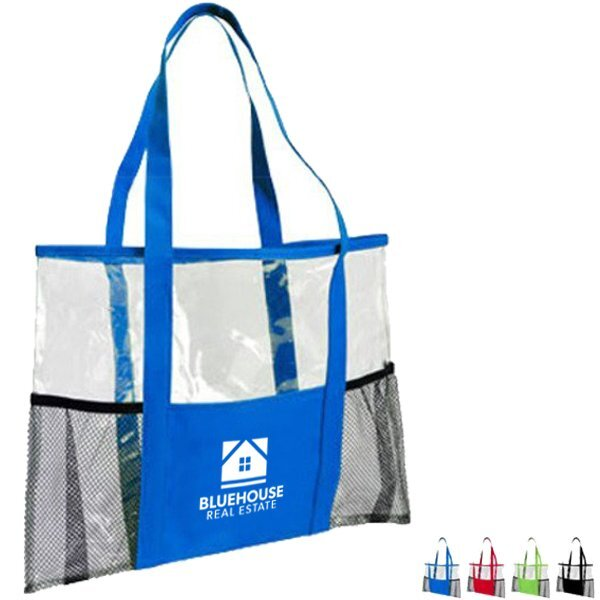 Crystal Clear PVC Tote Bag