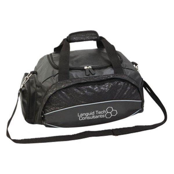 "Versatile Polyester Duffel / Backpack, 20"""