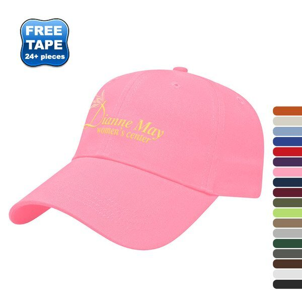 Value Brushed Cotton Twill Constructed Cap