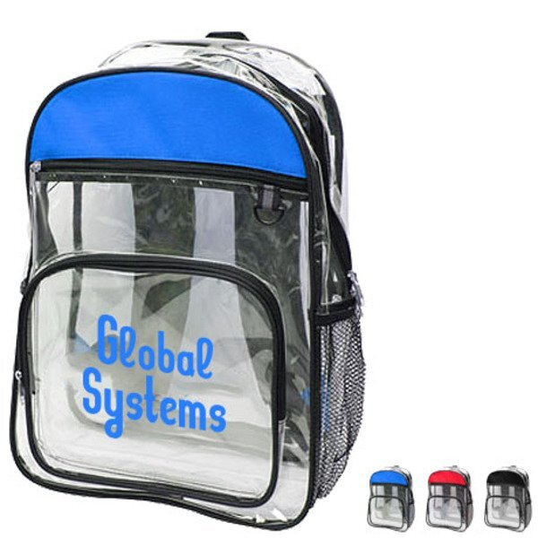 See-Through Clear Backpack