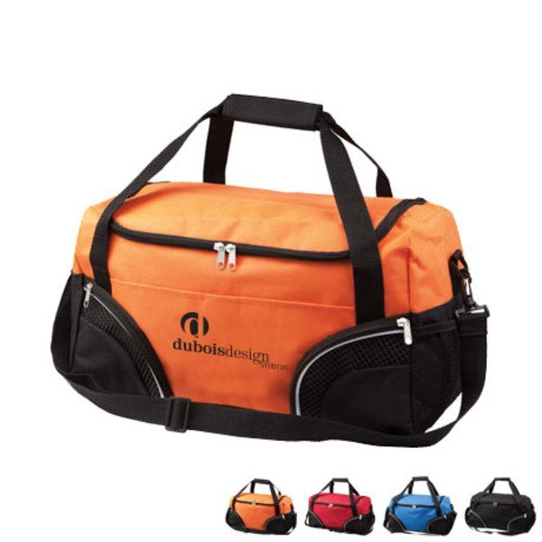 Everywhere Athletic 600D Polyester Duffel Bag, 19""
