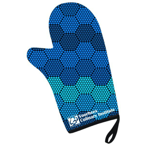 Sublimated Oven Mitt w/ Full Color Printing