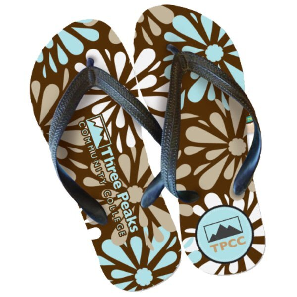 Sublimated Flip Flops