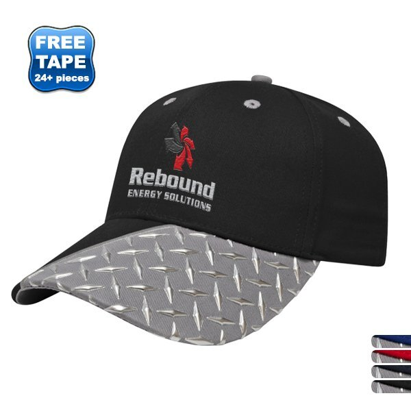 Tread Plate Chino Constructed Cap