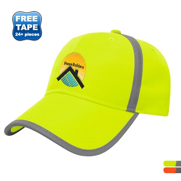 High Visibility Polyester Constructed Safety Cap