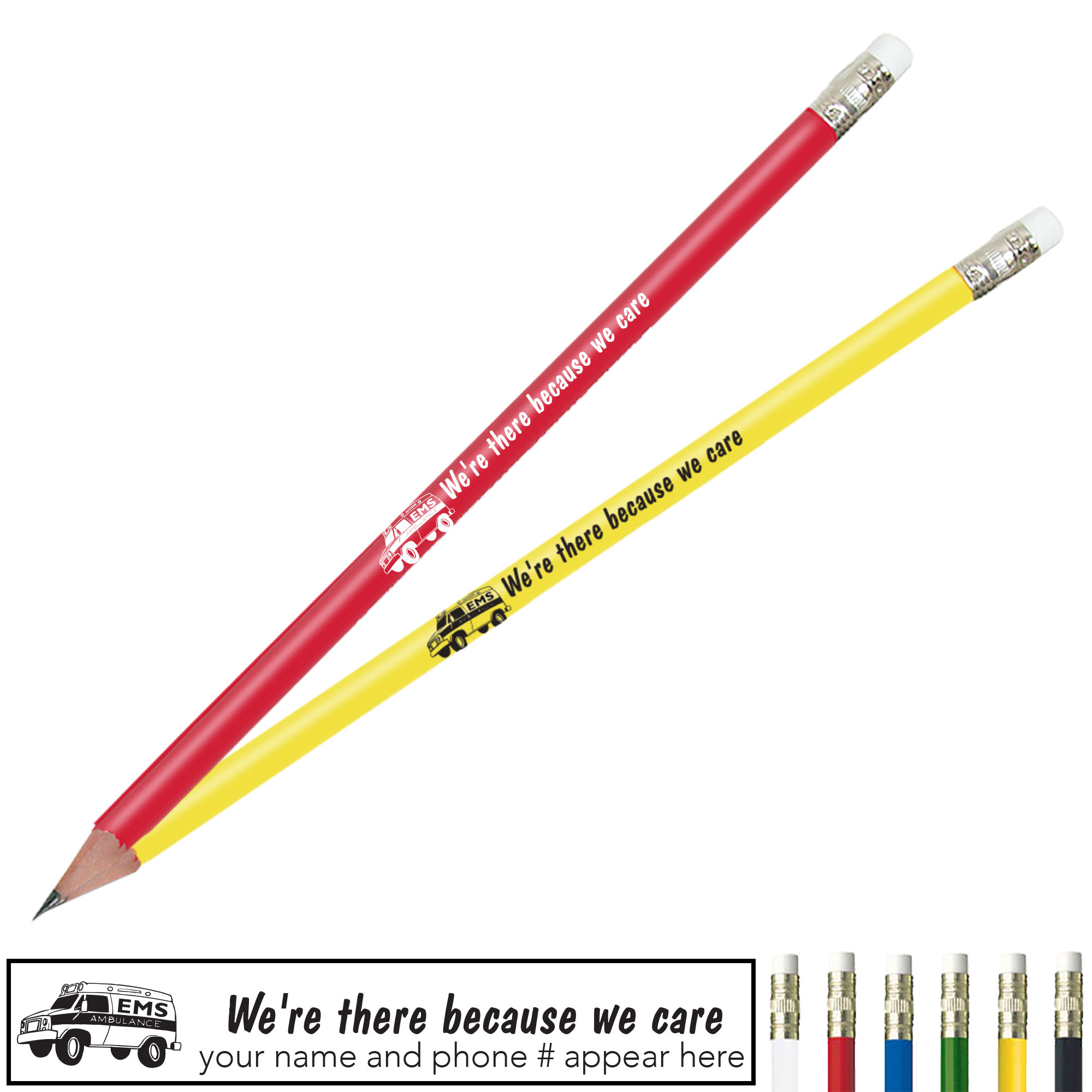 We're There Because We Care Pricebuster Pencil