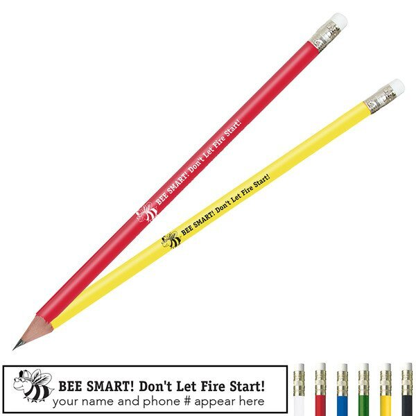Bee Smart Don't Let Fire Start Pricebuster Pencil