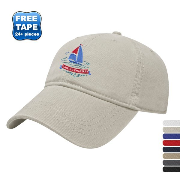 Ultra Brushed Cotton Unconstructed Cap