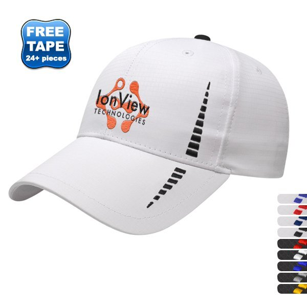 Accented Polyester Constructed Performance Cap