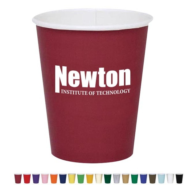 Colored Cold Beverage Paper Cup, 9oz.
