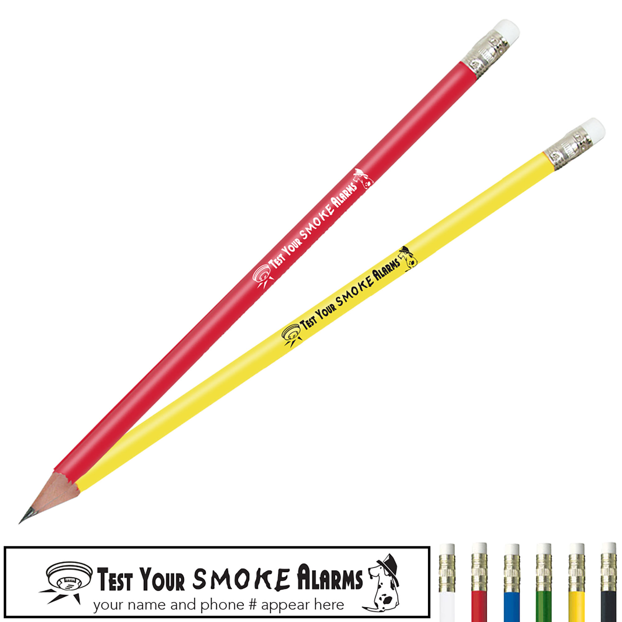 Test Your Smoke Alarms Pricebuster Pencil