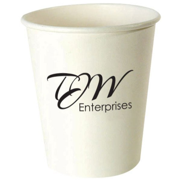 White Hot Beverage Paper Cup, 8oz.