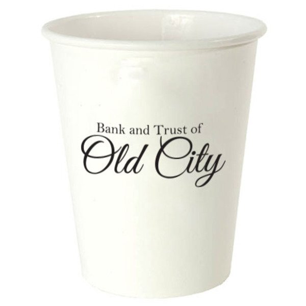 White Hot Beverage Paper Cup, 12oz.