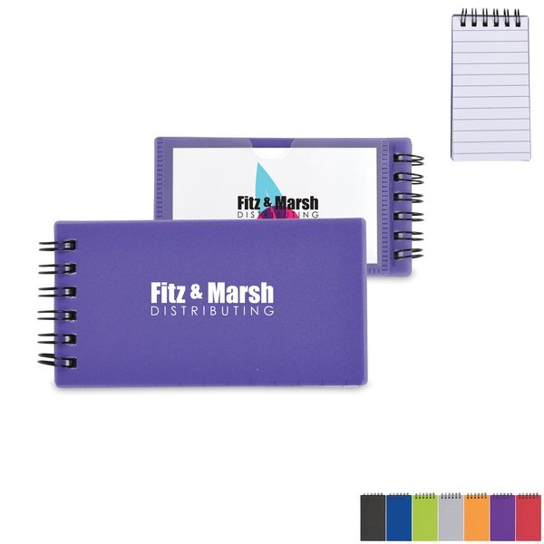 "Mini Business Card Jotter, 2-3/8"" x 4-5/8"""