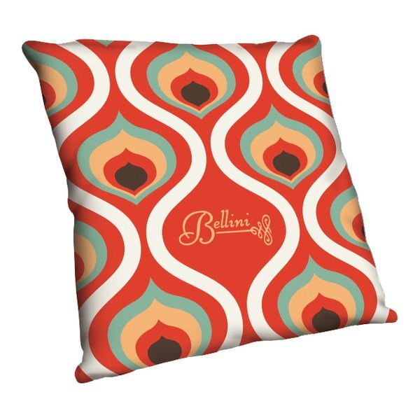 """Full Color Throw Pillow, 12"""" x 12"""""""