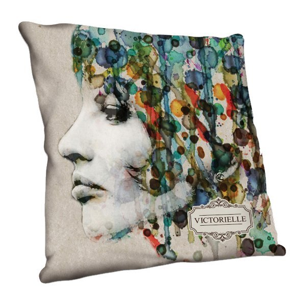 "Full Color Throw Pillow, 18"" x 18"""