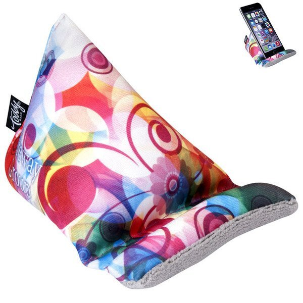 The Wedge™ Mobile Device Stand, Full Color Imprint