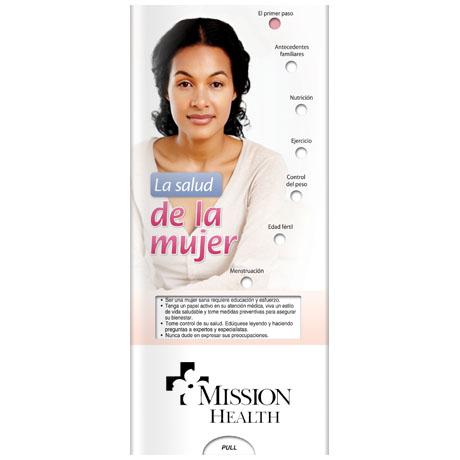 Women's Health Pocket Sliders™ (Spanish Version)