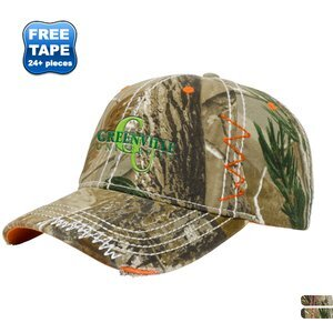 Accented Washed Realtree® Camo Twill Unstructured Cap 61cd577dcad5