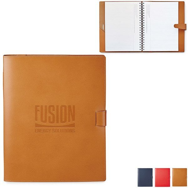 "Giuseppe Leather Notebook, 8-3/4"" x 10-3/4"""