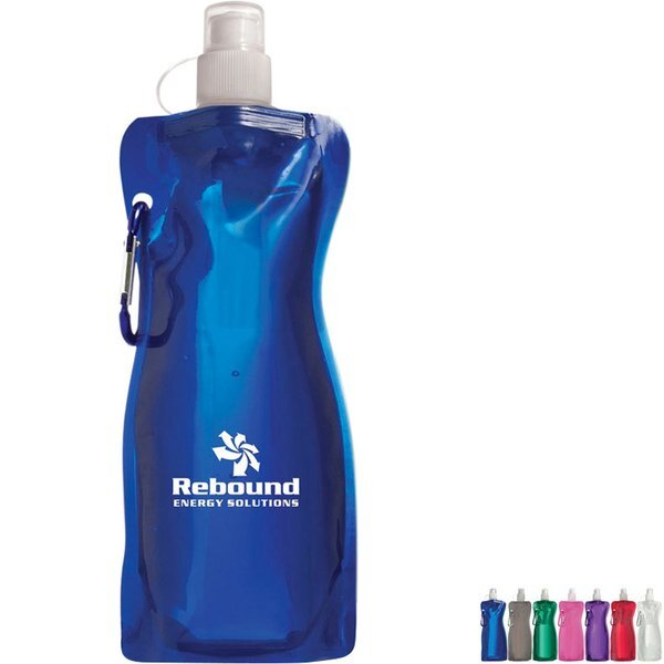 Bend-A-Water Bottle, 16oz.