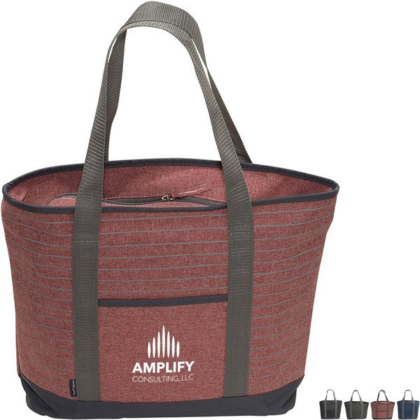 Somerset Serene 600D Zippered Tote