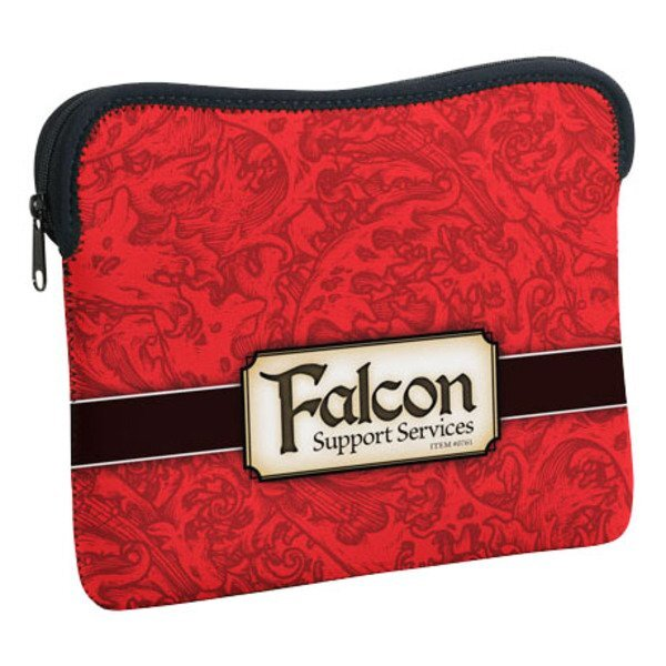 Verona iPad Neoprene Zippered Sleeve w/ Full Color Imprint