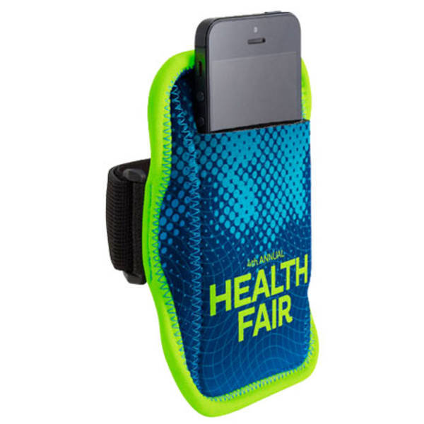 JogStrap Neoprene Electronics Holder w/ Full Color Imprint
