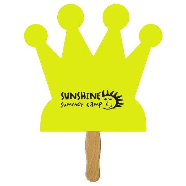 Crown Hand Fan