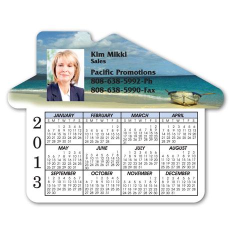 House Calendar Magnet, Full Color