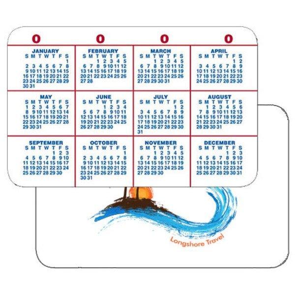 Calendar Wallet Card