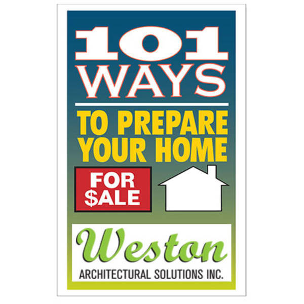 One Hundred and One Ways to Prepare Your Home For Sale Booklet