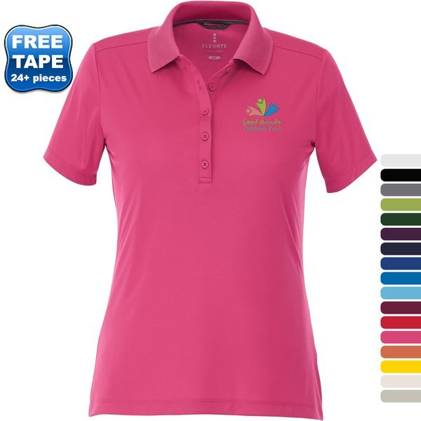 Dade Textured Knit Ladies' Performance Polo