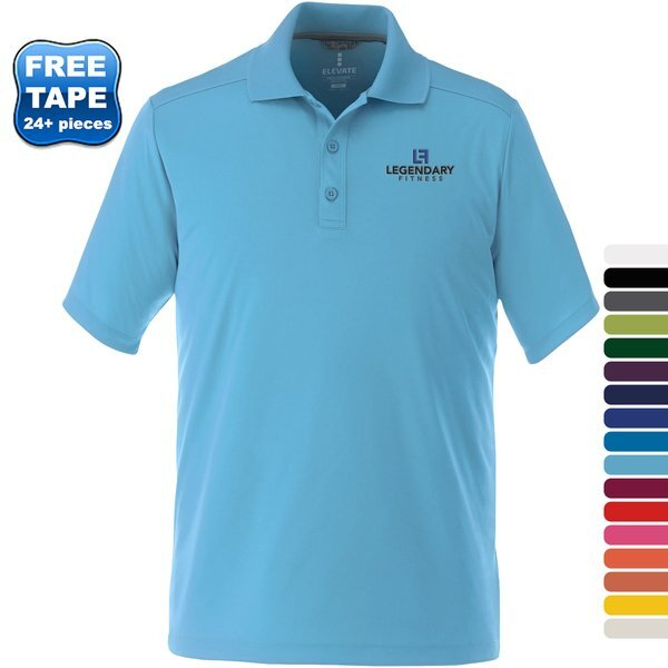 Dade Textured Knit Men's Performance Polo