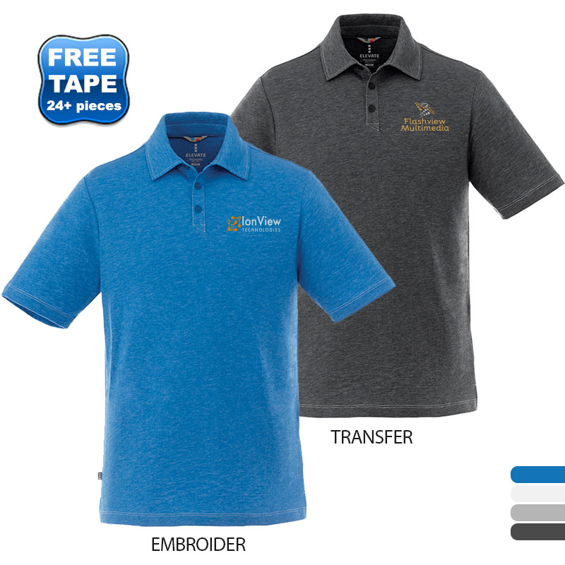 Tipton Heathered Men's Performance Polo