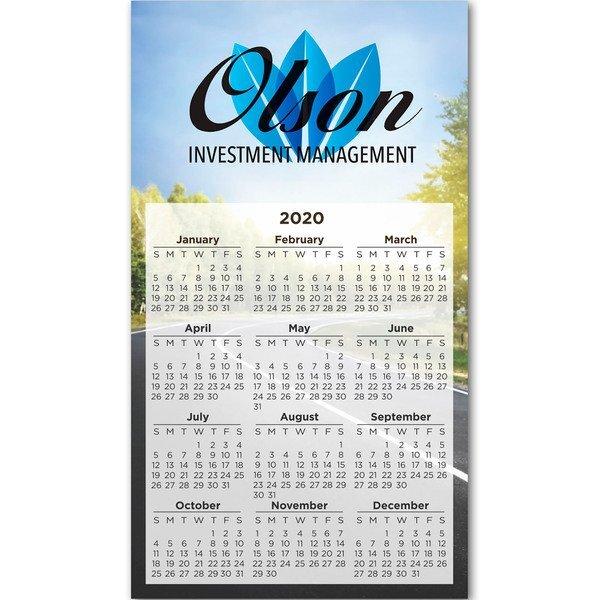 """Rectangle Calendar Magnet, 4"""" x 7"""""""