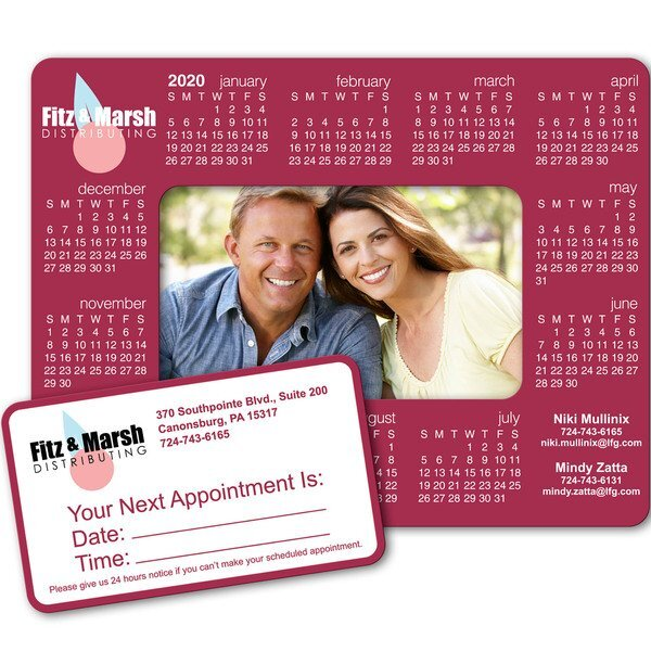 Calendar Picture Frame Magnet w/ Full Color Imprint