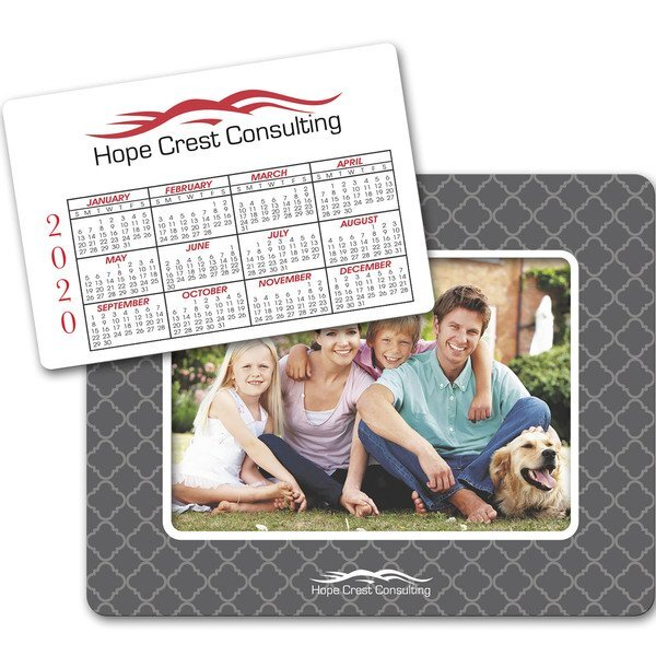 Picture Frame Calendar Punchout Magnet