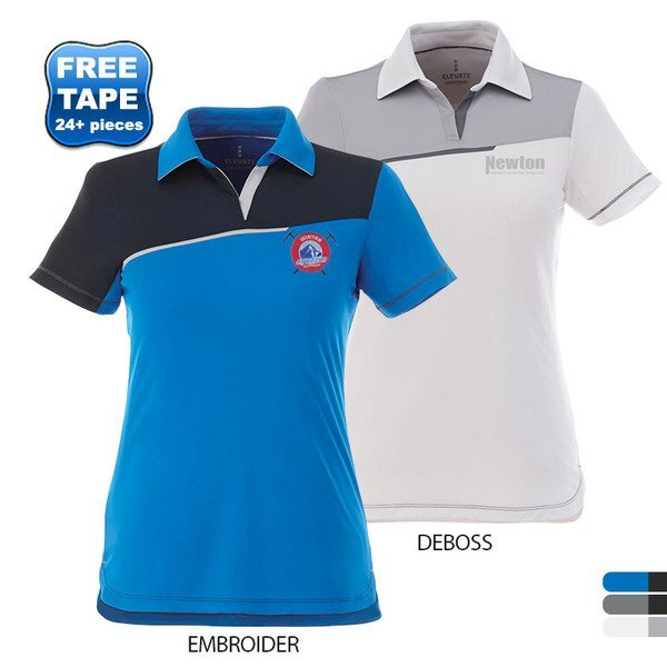 Prater Colorblocked Ladies' Performance Polo