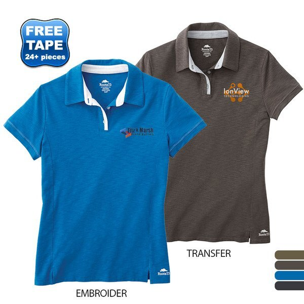Roots 73® Stillwater Poly Cotton Ladies' Performance Polo