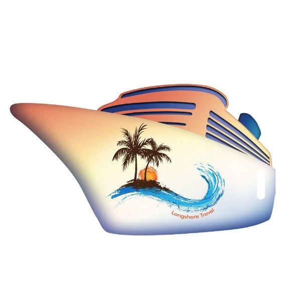 Cruise Ship Luggage Bag Tag