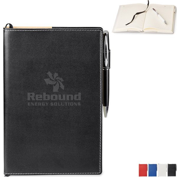 "Bradford Refillable Journal Combo, 5-3/4"" x 8-1/4"""