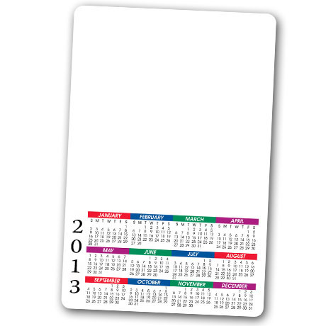 Magnetic Mini Memo Board, Calendar