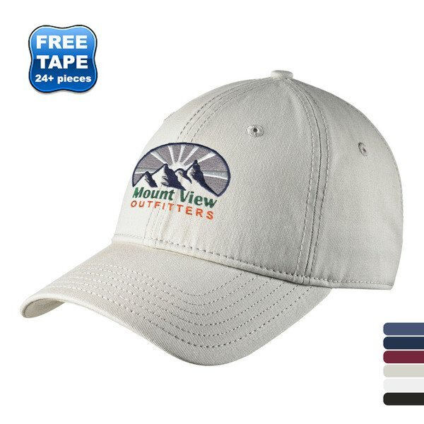 New Era® Cotton Unconstructed Cap