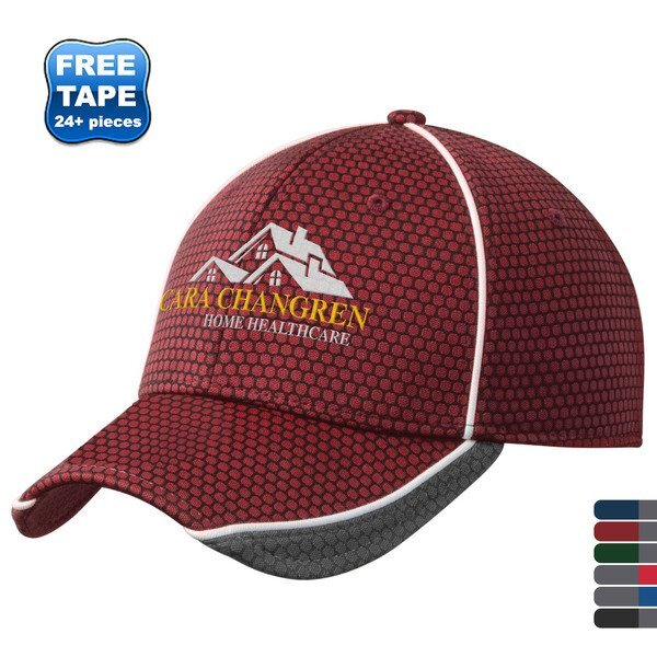 New Era® Hex Mesh Constructed Performance Fitted Cap