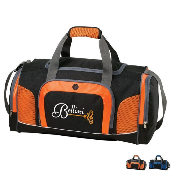 Courtside 600D Polyester  ColorBurst Duffel, 21""