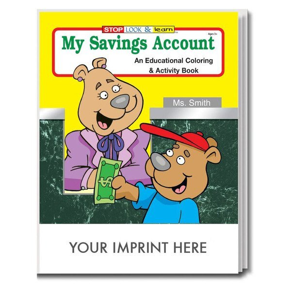My Savings Account Coloring & Activity Book