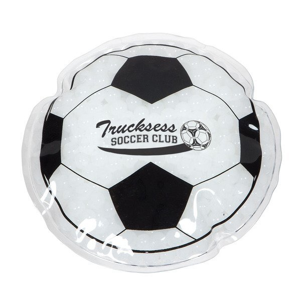 Soccer Ball Aqua Pearls Deluxe Hot & Cold Pack