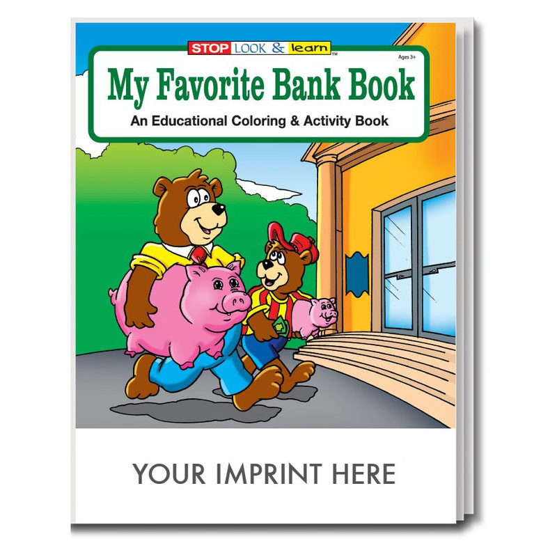 My Favorite Bank Coloring & Activity Book